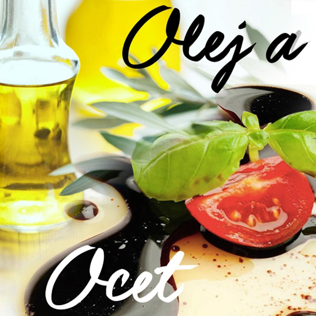 italský olivový olej